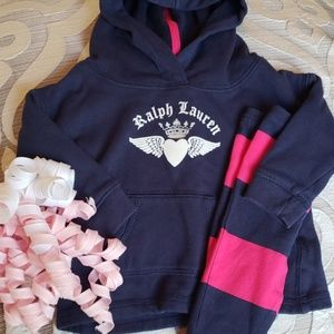 💞Ralph Lauren Hoodie and Pant Set💞